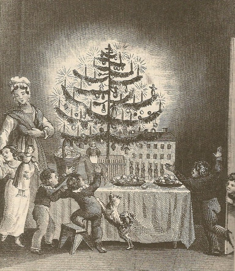1836-print-of-american-christmas-tree
