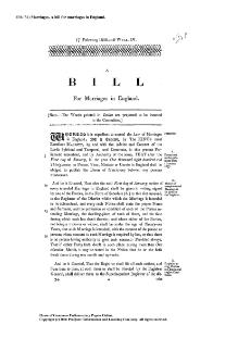 1836 (34) Marriages. A bill for Marriages in England.djvu