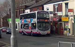 Greater Manchester bus route 184