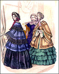 Image result for 1857 england fashion