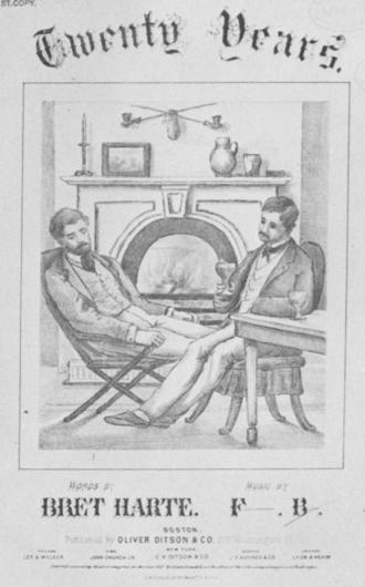 Francis Boott (composer) - Image: 1871 Years Harte Ditson Boston