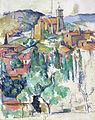 1885-86 Cezanne Village at Gardanne anagoria IMG7176.JPG
