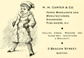1893 HH Carter BeaconSt ad BostonArtGuide Massachusetts.png