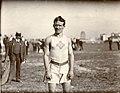 1904 Olympics- Archie Hahn, Milwaukee Athletic Club, winner of 100 Meter Dash.jpg