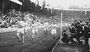 Athletics at the 1912 Summer Olympics - 1500 metre final.