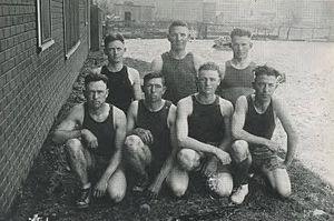 Texas A&M–Commerce Lions men's basketball - The East Texas State men's basketball team in 1920