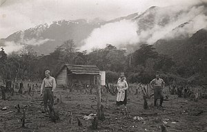German Chileans - German settlers in Aysén Region in the 1930s.