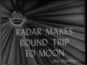 File:1946-01-31 Radar makes Round Trip To Moon.ogv