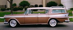 Hardtop - 1958 Rambler Ambassador four-door hardtop station wagon