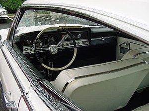 Hardtop - A hardtop lacks a B-pillar, illustrated by this 1965 Rambler Marlin