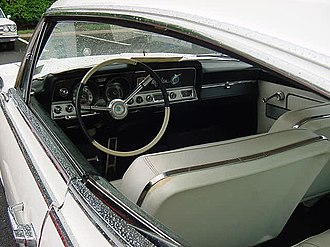 Hardtop - 1965 Rambler Marlin, a pillarless hardtop