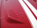 1969 AMC AMX red 2010-MD-hooddetail.jpg