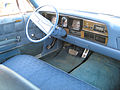 1974 AMC Ambassador sedan blue-white Kenosha-i.jpg