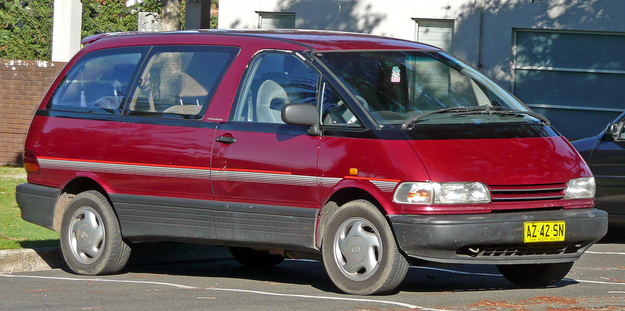 Toyota Previa Car Cover  Year Warranty