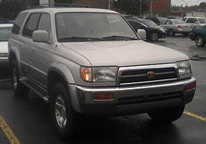 1996-1998 Toyota 4Runner photographed in Montr...