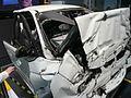 1997-1999 Holden VT Commodore Executive sedan (100 kilometres per hour wreckage) 02.jpg