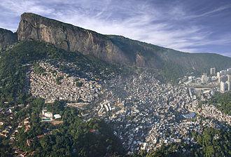 Rocinha - Aerial view of Rocinha