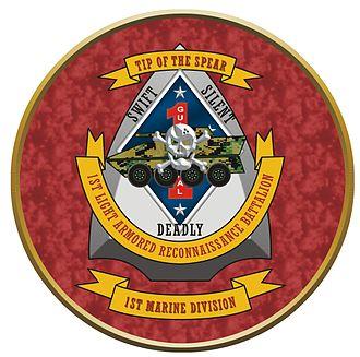 1st Light Armored Reconnaissance Battalion - 1st LAR Insignia