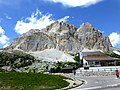 2,803m Lagazuoi 2,105m Passo Falzarego Italy - panoramio.jpg