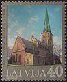 20040828 40sant Latvia Postage Stamp.jpg
