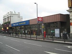 King's Cross Thameslink railway station - Image: 20040910 005 kings cross thameslink