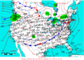 2006-01-09 Surface Weather Map NOAA.png