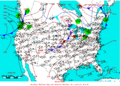 2006-04-14 Surface Weather Map NOAA.png