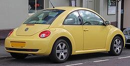 2006 Volkswagen New Beetle Luna 1.6 Rear.jpg
