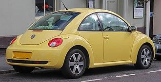 Volkswagen New Beetle - Coupe (facelift)