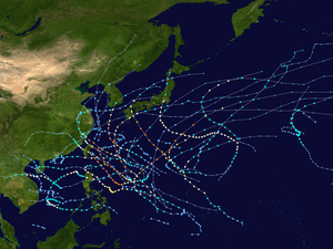2007 Pacific typhoon season summary map.png