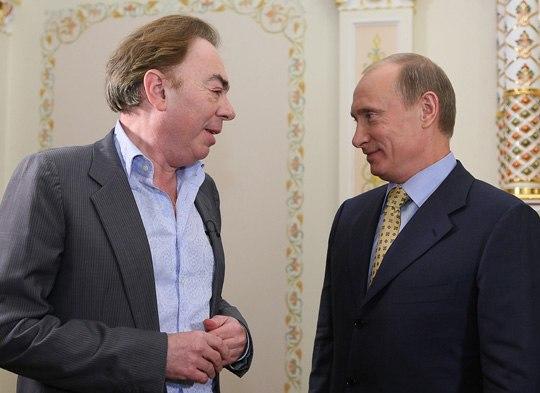 2008-11-15 Владимир Путин, Эндрю Ллойд Уэббер (2).jpeg