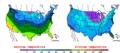 2009-02-03 Color Max-min Temperature Map NOAA.png