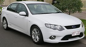 2009 Ford Falcon (FG) XR6 sedan (2016-01-04) 01.jpg