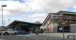 St Austell railway station - Image: 2009 at St Austell station forecourt