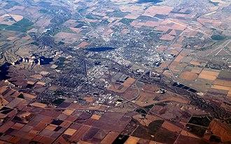 Scottsbluff, Nebraska - Aerial view of Scottsbluff.