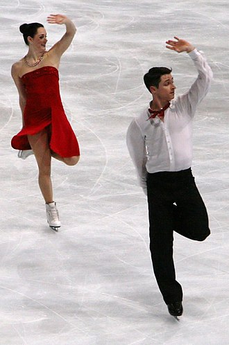 Twizzle - 2010 and 2018 Olympic Gold Medalists Tessa Virtue and Scott Moir performing their free dance in 2012