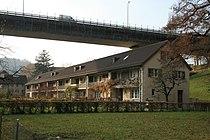 2012-11-23 Wettingen Wohnhäuser Kraftwerkstrasse 10ff 04.jpg