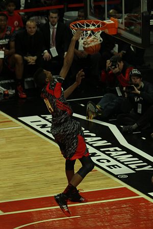 Marcus Lee - Lee dunking in the 2013 McDonald's All-American Boys Game