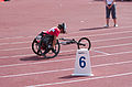 2013 IPC Athletics World Championships - 26072013 - Catherine Debrunner of Switzerland during the Women's 400M - T53 second semifinal 11.jpg