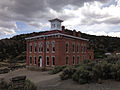 2014-07-30 12 52 40 Belmont Courthouse in Belmont, Nevada viewed from the east.JPG