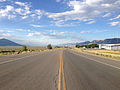 2014-08-09 18 24 51 View north along U.S. Route 93 about 55.2 miles north of the Lincoln County line in Ely, Nevada.JPG