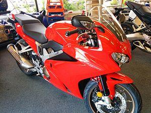 Honda VFR800 - 2014 Honda VFR800 in U.S. showroom