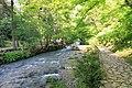2014 Nowy Aton, Historyczny szlak w kanionie rzeki Psyrccha (02).jpg