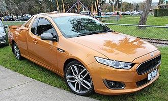 Ute (vehicle) - 2015 Ford FG X Falcon Ute