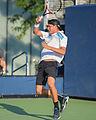 2015 US Open Tennis - Qualies - Jose Hernandez-Fernandez (DOM) def. Jonathan Eysseric (FRA) (20957367062).jpg
