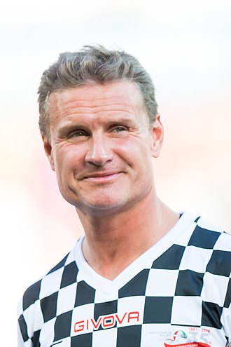 David Coulthard - Coulthard in 2016
