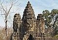 2016 Angkor, Angkor Thom, Brama południowa (21).jpg