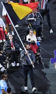 Sven Decaesstecker Paralympian, swimmer