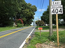Maryland Route 404 - Wikipedia