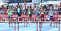 2018-10-16 Stage 2 (Boys' 400 metre hurdles) at 2018 Summer Youth Olympics by Sandro Halank–019.jpg